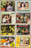 "Movie Posters:Adventure, All the Brothers Were Valiant & Others Lot (MGM, 1953). TitleLobby Cards (7) & Lobby Cards (38) (11"" X 14""). Adventure.. ...(Total: 45 Items)"