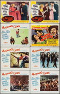 """Movie Posters:Musical, Anything Goes & Others Lot (Paramount, 1956). Title Lobby Card & Lobby Cards (32) (11"""" X 14""""). Musical.. ... (Total: 33 Item)"""