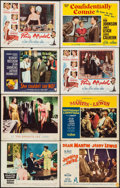 "Movie Posters:Comedy, Auntie Mame & Others Lot (Warner Brothers, 1958). Lobby Cards(61) & Title Lobby Cards (6) (11"" X 14""). Comedy.. ... (Total:67 Items)"