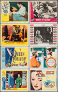 """Movie Posters:Drama, The Barefoot Contessa & Others Lot (United Artists, 1954).Lobby Cards (124) & Title Lobby Cards (5) (11"""" X 14""""). Drama..... (Total: 129 Items)"""