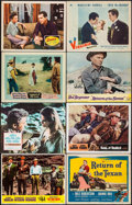 "Movie Posters:Western, The Way West & Others Lot (United Artists, 1967). Lobby Cards(74) & Title Lobby Cards (4) (11"" X 14""). Western.. ..."