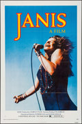 "Movie Posters:Rock and Roll, Janis (Universal, 1975). Folded, Very Fine. One Sheet (27"" X 41""). Jim Marshall Photography. Rock and Roll.. ..."