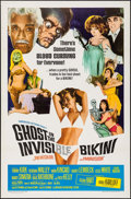 "Movie Posters:Comedy, Ghost in the Invisible Bikini (American International, 1966). OneSheet (27"" X 41""). Comedy.. ..."