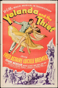 "Yolanda and the Thief (MGM, 1945). One Sheet (27"" X 41""). Musical"