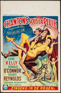 """Movie Posters:Musical, Singin' in the Rain (MGM, 1952). Belgian (14.25"""" X 21.5"""").Musical.. ..."""