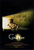 "Movie Posters:Animation, Coraline (Focus Features, 2009). One Sheet (27"" X 40""). DS Advance. Animation.. ..."