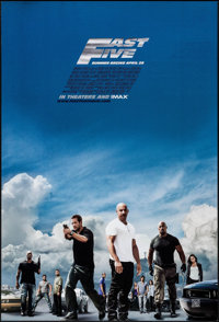"""Fast Five & Other Lot (Universal, 2011). One Sheets (2) (27"""" X 40""""). DS Advance. Action. ... (Total: 2..."""