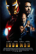"Movie Posters:Science Fiction, Iron Man (Paramount, 2008). One Sheet (27"" X 40""). DS Advance.Science Fiction.. ..."