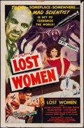"Movie Posters:Science Fiction, On the Mesa of Lost Women (Howco, 1952). One Sheet (27"" X 41"")Style B. Science Fiction.. ..."