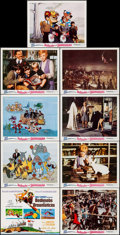 """Movie Posters:Animation, Bedknobs and Broomsticks (Buena Vista, 1971). Lobby Card Set of 9 (11"""" X 14""""). Animation.. ... (Total: 9 Items)"""