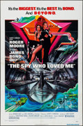 """Movie Posters:James Bond, The Spy Who Loved Me & Other Lot (United Artists, 1977). One Sheet (27"""" X 41"""") & Program (Folded: 6"""" X 12"""" Unfolded: 12"""" X 1... (Total: 2 Items)"""