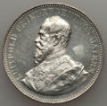 German States:Bavaria, German States: Bavaria. Luitpold silver Medal 1891 UNC -Cleaned,...