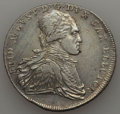 German States:Saxony, German States: Saxony. Friedrich August III Taler 1797-IEC VF - Cleaned,...
