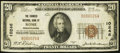 National Bank Notes:Pennsylvania, Rome, PA - $20 1929 Ty. 1 The Farmers NB Ch. # 10246. ...