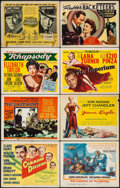 "Movie Posters:War, Command Decision & Others Lot (MGM, 1948). Title Lobby Cards(8) (11"" X 14""). War.. ... (Total: 8 Items)"
