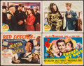 "Movie Posters:Comedy, Merton of the Movies & Others Lot (MGM, 1947). Title Lobby Card (2) & Lobby Cards (2) (11"" X 14""). Comedy.. ... (Total: 4 Items)"