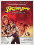 """Movie Posters:Adventure, Indiana Jones and the Temple of Doom (CIC, 1984). French Grande(47"""" X 62.5""""). Adventure.. ..."""