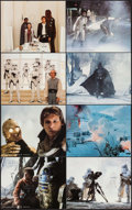"Movie Posters:Science Fiction, The Empire Strikes Back (20th Century Fox, 1980). Deluxe Mini LobbyCard Set of 8 (8"" X 10""). Science Fiction.. ... (Total: 8 Items)"
