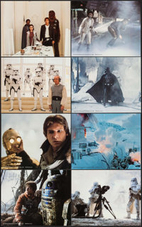 "The Empire Strikes Back (20th Century Fox, 1980). Deluxe Mini Lobby Card Set of 8 (8"" X 10""). Science Fiction..."
