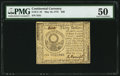 Colonial Notes:Continental Congress Issues, Continental Currency May 10, 1775 $30 PMG About Uncirculated 50.....