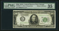Fr. 2202-G* $500 1934A Federal Reserve Note. PMG Choice Very Fine 35