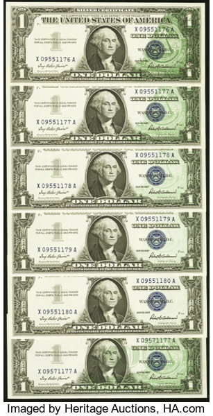 Error NotesOffsets Offset Grouping Fr 1619 1 1957 Silver Certificates