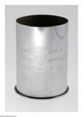 """Political:Miscellaneous Political, Chrome Artillery Shell Used At John F. Kennedy Memorial Service.There is a military mandate which states that, """"On the da..."""