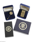 Political:Miscellaneous Political, George H. W. Bush Presentation Items Included in this lot are anashtray, trip to Israel key chain, tie bar, cuff links, l...(Total: 7 )