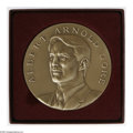 Political:Tokens & Medals, Important Pattern for the (Unneeded) 2001 Al Gore OfficialPresidential Inaugural Medal. This full-scale 70mm bronze medali...