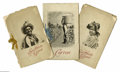 Antiques:Black Americana, Photogravure Booklets of Black Americana in the South. Althoughthese three volumes are not dated, they appear to be from th...
