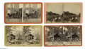 Antiques:Black Americana, Six Stereoviews of Blacks at Work in Georgia and Florida. A set ofstereoview all by Georgia photographers depicting blacks ...(Total: 6 )