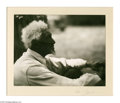 Photography:Signed, Signed Clara E. Sipprell Photograph of an old gentleman by the name of Liverpool Hazard who was 108 years old when this mood...