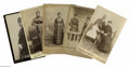 Antiques:Black Americana, Five Cabinet Cards of Black Women. An impressive group of formalportraits of mostly middle-class black women circa 1870-90 ...