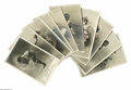 """Antiques:Black Americana, Excellent set of Ten (10) Real Photo Postcards Featuring BlackPerformers doing """"Le Cake Walk"""". By the 1890s, the """"Cake Walk...(Total: 10 )"""