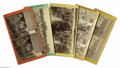 Antiques:Black Americana, Five Stereoviews Presenting Life on the Plantation. An excellentselection of five (5) stereoviews of slaves on Southern pla...(Total: 5 )