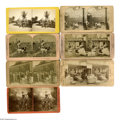 Antiques:Black Americana, Twelve Stereoviews Including Genre Scenes. An eclectic, large groupof stereoviews including many typical genre studies as w... (Total:12 )