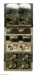 """Antiques:Black Americana, Seven Occupational Stereoviews of Blacks A good collection of images of blacks from """"typical"""" occupations of the late ninete..."""