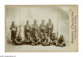 Antiques:Black Americana, Cabinet Card of Black Cadet Soldiers. This photograph is quiteunusual, depicting a company of young Black military cadets f...