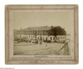 Military & Patriotic:Civil War, Albumen Print of the Infamous Libby Prison From a Mathew Brady Negative by Taylor & Huntington from their War for the Union ...