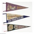 General Historic Events:Expos, Six 1915 Panama-Pacific International Exposition Pennants. The Panama-Pacific International Exposition was the 1915 world'... (Total: 6 items)