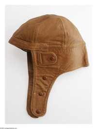 Amelia Earhart's Leather Flying Cap Not many photographs exist of Amelia wearing her flying headgear, however, the ones...