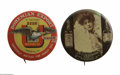 Advertising:Pocket Mirrors & Pinbacks, Union Brewing Co and Whiskey Advertising Pins This colorfulWhitehead and Hoag pre-prohibition pin advertisies the Union Bre...
