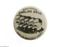 "Advertising:Pocket Mirrors & Pinbacks, Ringling Brothers Souvenir Pinback Button in near mint condition picturing all of the brothers who produced the ""World's Gre..."
