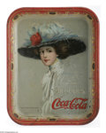 Advertising:Soda Items, Hamilton King 1910 Coca-Cola Tray. One of the earlier trays produced for Coke by American Art Works, it features the art of ...