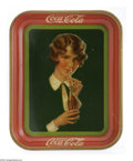 Advertising:Soda Items, Bob-Haired Girl 1928 Coca-Cola Tray is a classic example of the style and taste of the late 20s. This model, referred to by ...