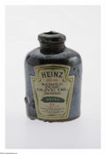 "Advertising:Display Jars, Rare and Unusual Heinz Sample Olive Oil Mini Jug. The size hasnothing to do with the powerful collectibility of this ""Sampl..."