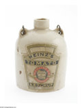 Advertising:Small Novelties, Heinz Ketchup Advertising Mini Jug. An exceptional find for anadvertising or mini jug collector, here is a terrific Heinz a...