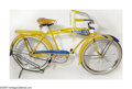 Memorabilia:Miscellaneous, Donald Duck Bicycle (Shelby, 1949)....