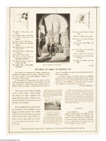 "Military & Patriotic:WWI, Poems for Schools. (Lot of 2) 22"" x 16"" Artist:unsigned. Thisposter was printed for use in schools. One the verso of thes...(Total: 2 items)"