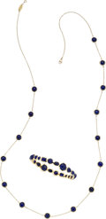 Estate Jewelry:Suites, Lapis Lazuli, Gold Jewelry Suite, Ippolita. ... (Total: 2 Items)